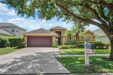 3106 Bent Creek Drive, Valrico, FL 33596 - MLS#: T3126011