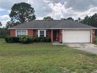 13136 Siam Drive, Spring Hill, FL 34609 - MLS#: T3127528
