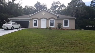 8420 N Sarazen Drive, Citrus Springs, FL 34434 - MLS#: T3132218