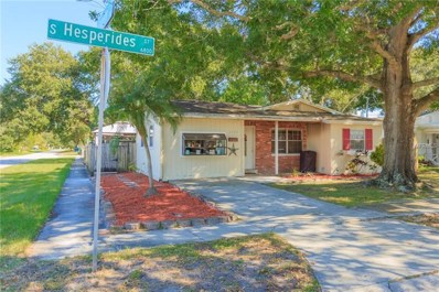 6802 S Hesperides Street, Tampa, FL 33616 - MLS#: T3135824