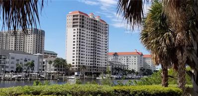 371 Channelside Walk Way UNIT 1103, Tampa, FL 33602 - MLS#: T3137029