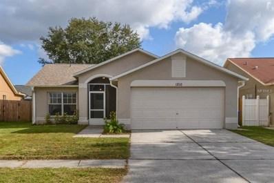 1216 Etchfield Circle, Brandon, FL 33511 - MLS#: T3149180