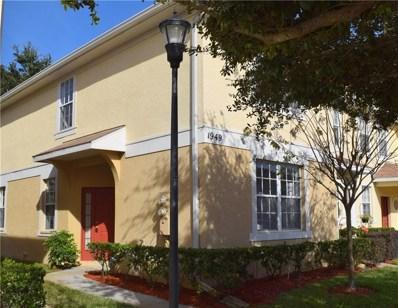 1949 Fiesta Ridge Court UNIT 1949, Tampa, FL 33604 - MLS#: T3150089