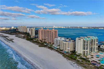 1370 Gulf Boulevard UNIT 801, Clearwater Beach, FL 33767 - MLS#: T3151883