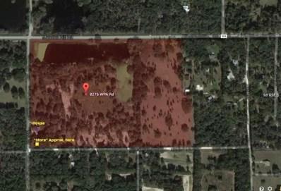 8276 Wpa Road, Brooksville, FL 34601 - MLS#: T3154662