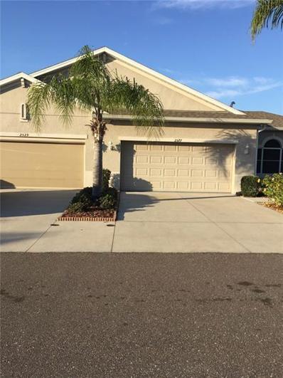 2527 Sapphire Greens Lane, Sun City Center, FL 33573 - MLS#: T3155693