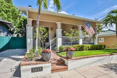 1615 W Watrous Avenue, Tampa, FL 33606 - MLS#: T3163775