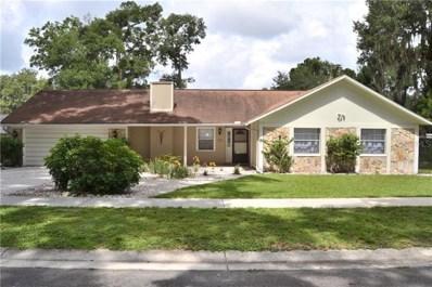 2101 Siloam Springs Drive, Dover, FL 33527 - MLS#: T3184037