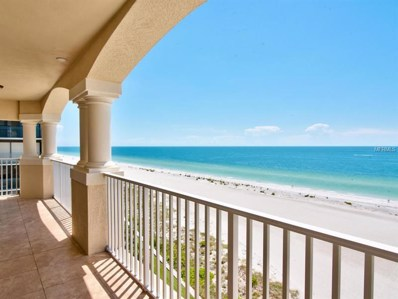 1370 Gulf Boulevard UNIT 801, Clearwater, FL 33767 - MLS#: U7783395