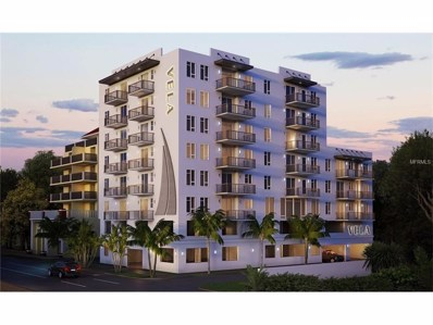 424 8TH Street S UNIT 701, St Petersburg, FL 33701 - MLS#: U7810639