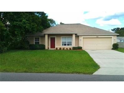 1456 Whitewood Avenue, Spring Hill, FL 34609 - MLS#: U7828076