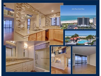 1290 Gulf Boulevard UNIT 608, Clearwater Beach, FL 33767 - MLS#: U7828447