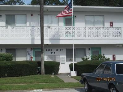 8450 112TH Street UNIT 106, Seminole, FL 33772 - MLS#: U7829625