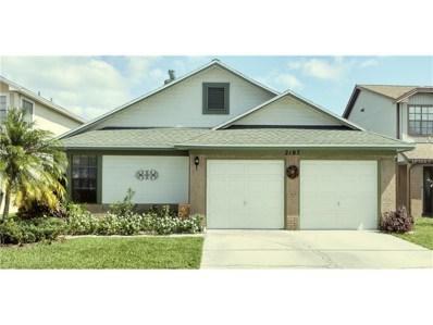 2187 Springrain Drive, Clearwater, FL 33763 - MLS#: U7834135