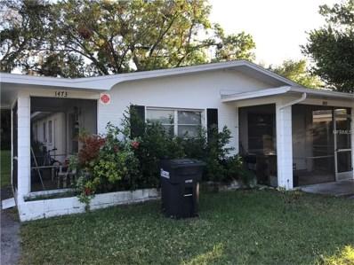 1473 Grove Street, Clearwater, FL 33755 - MLS#: U7834568