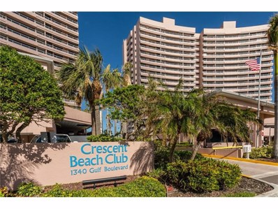 1340 Gulf Boulevard UNIT 2F, Clearwater Beach, FL 33767 - MLS#: U7835164