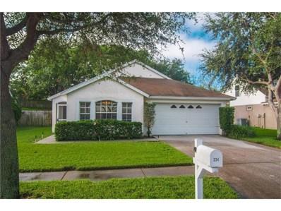 334 Gray Oak Drive, Tarpon Springs, FL 34689 - MLS#: U7835541