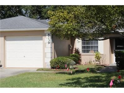 8739 Manos Circle UNIT 8739, New Port Richey, FL 34655 - MLS#: U7838067