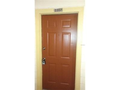 11901 4TH Street N UNIT 2207, St Petersburg, FL 33716 - MLS#: U7839260
