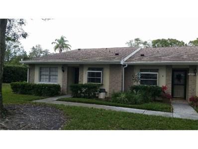 1047 Dunrobin Drive UNIT A, Palm Harbor, FL 34684 - MLS#: U7840878