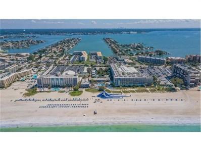 5500 Gulf Boulevard UNIT 3219, St Pete Beach, FL 33706 - MLS#: U7842616