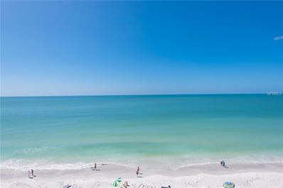 8470 W Gulf Boulevard UNIT 605, Treasure Island, FL 33706 - MLS#: U7849554