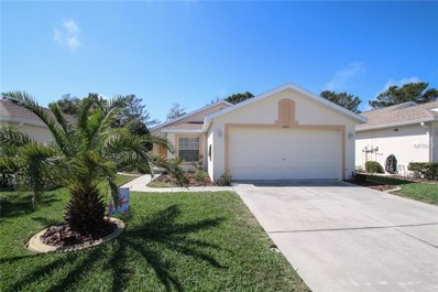 2843 Wood Pointe Drive, Holiday, FL 34691 - MLS#: U7850422