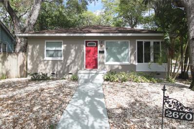 2670 Bayside Drive S, St Petersburg, FL 33705 - MLS#: U7850498