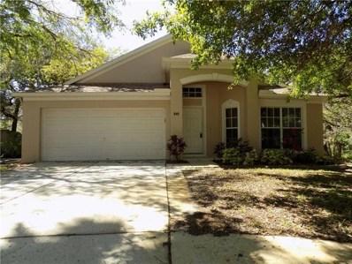 849 Briar Oak Ct, Tarpon Springs, FL 34689 - MLS#: U7852833