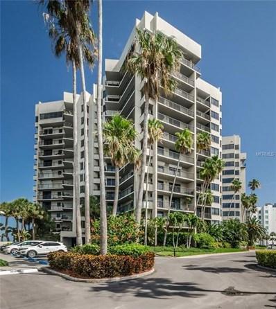 1600 Gulf Boulevard UNIT 814, Clearwater Beach, FL 33767 - MLS#: U8000333
