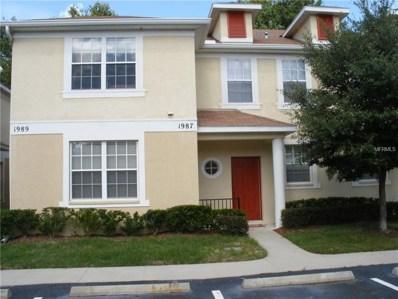 1987 Fiesta Ridge Court, Tampa, FL 33604 - MLS#: U8001060