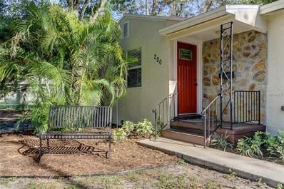 200 Hampton Avenue NE, St Petersburg, FL 33703 - MLS#: U8001224