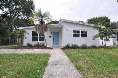 631 42ND Avenue N, St Petersburg, FL 33703 - MLS#: U8005552