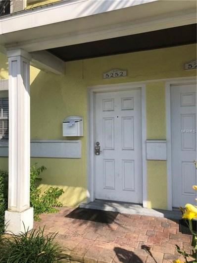 5252 Beach Drive SE, St Petersburg, FL 33705 - MLS#: U8006610