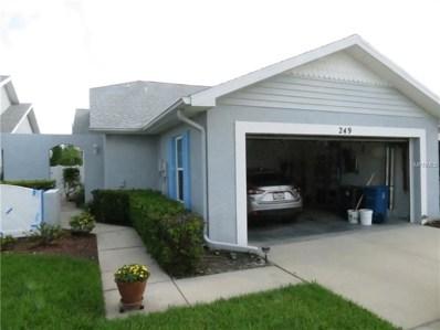 249 Hemingway Drive, Oldsmar, FL 34677 - MLS#: U8006638