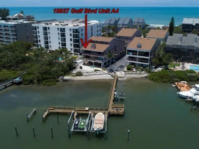 19937 Gulf Boulevard UNIT A4, Indian Shores, FL 33785 - MLS#: U8007029