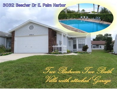 3032 Beecher Drive E UNIT D, Palm Harbor, FL 34683 - MLS#: U8007844