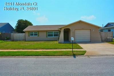 2441 Mondale Court, Holiday, FL 34691 - MLS#: U8007906