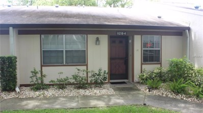 11210 Dollar Lake Drive UNIT 4, Port Richey, FL 34668 - MLS#: U8008984