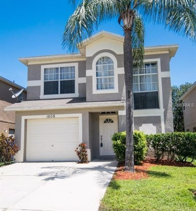 1608 Prowmore Drive, Brandon, FL 33511 - MLS#: U8010342