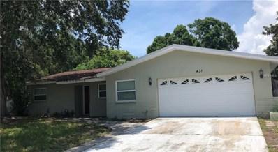 431 David Court, Palm Harbor, FL 34684 - MLS#: U8010976