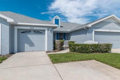 209 Hemingway Drive, Oldsmar, FL 34677 - MLS#: U8011147