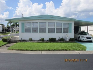 39820 Us Highway 19 N UNIT 122, Tarpon Springs, FL 34689 - MLS#: U8014208