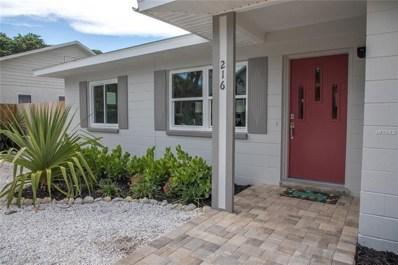 216 42ND Avenue, St Pete Beach, FL 33706 - MLS#: U8015773