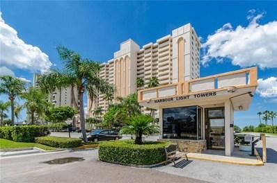 1270 Gulf Boulevard UNIT 1008, Clearwater Beach, FL 33767 - MLS#: U8017031