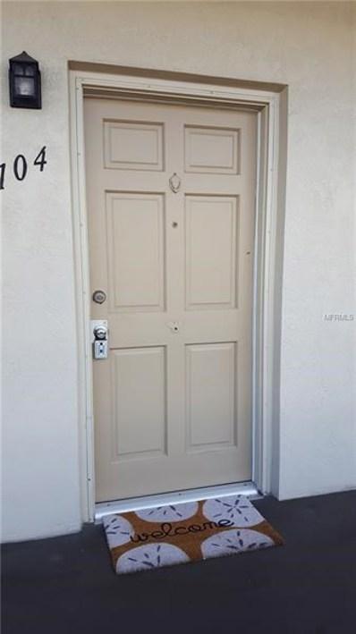 5967 Terrace Park Drive N UNIT 104, St Petersburg, FL 33709 - MLS#: U8017472
