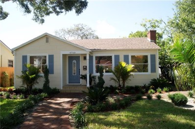 4750 Emerson Avenue S, St Petersburg, FL 33711 - MLS#: U8018783