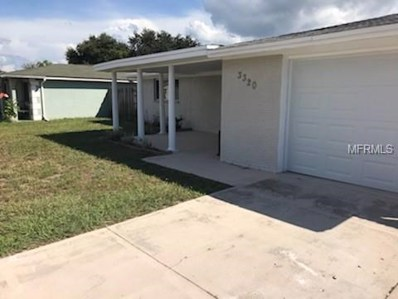 3320 Eisenhower Drive, Holiday, FL 34691 - MLS#: U8019343