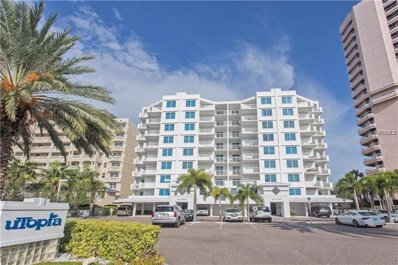 1350 Gulf Boulevard UNIT 404, Clearwater Beach, FL 33767 - MLS#: U8019591