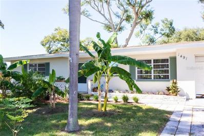 1491 Dartmouth Drive, Clearwater, FL 33756 - MLS#: U8021411